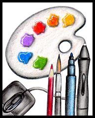 ArtTools_WriterSideUp.com_byDonnaMarie