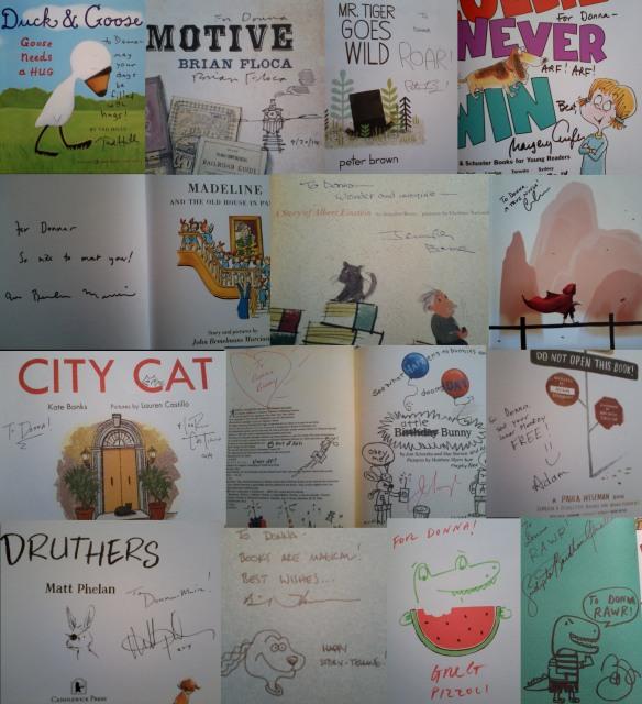 Signatures collage