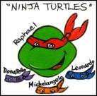 Ninja Turtles - face painting image