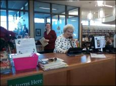Librarians at Front Desk 2