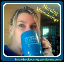 BOOK JOURNEY - Sheila with coffee