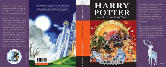 Deathly Hallows BRITISH cover