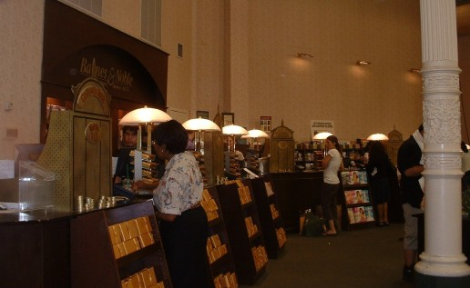 B&N Union Sq -Gringotts registers 1st floor