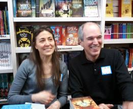 Rebecca Stead & Peter Lerangis 2