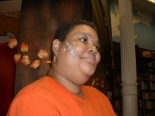 Saundra-snitch face paint
