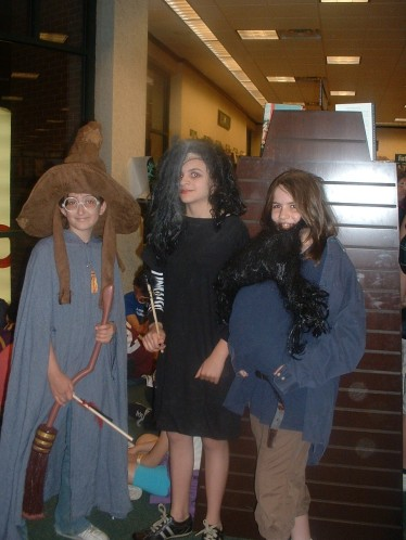 Sorting Hat,Bellatrix,Hagrid-kids at Clifton