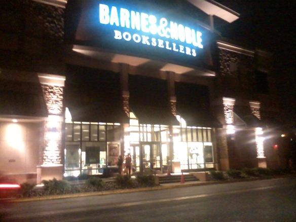 B&N Hackensack entrance