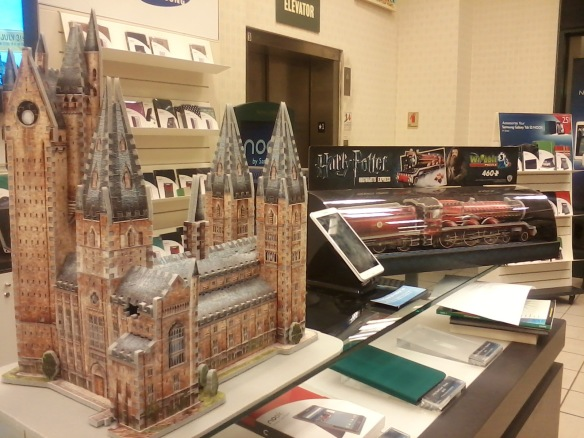 Hogwarts and Express 3-D puzzles
