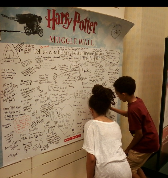 Muggle Wall - two kids