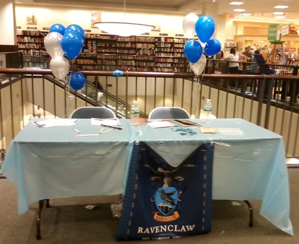 Ravenclaw table